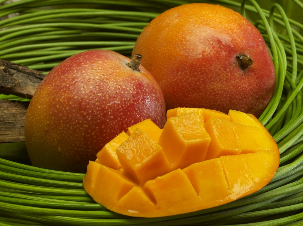 how to peel and eat a mango