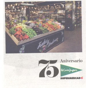 75th Anniversary of El Corte Ingles