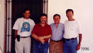 Pedro and Luis Jorge and Manuel Checa, Ica-1996